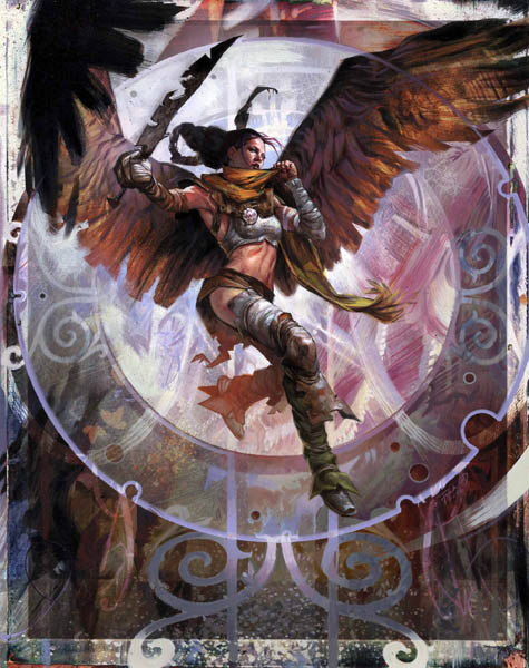 beautiful women of Magic the Gathering art